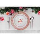 Тарелка десертная Доляна «Счастливого Нового Года», d=20,5 см - Фото 5