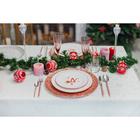 Тарелка десертная Доляна «Счастливого Нового Года», d=20,5 см - Фото 6