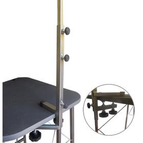Стойка-кронштейн регулируемая для стола - груминг, сварной держатель, 0,75 м, высота 40 см Ош