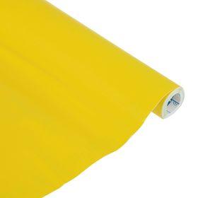 Плёнка самоклеящаяся Цветная, 0.5 х 3 м, Sadipal, 100 мкм, Matt, жёлтая Ош
