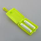 Щётка роликовая с ручкой, 2 ролика, цвет МИКС - Фото 3