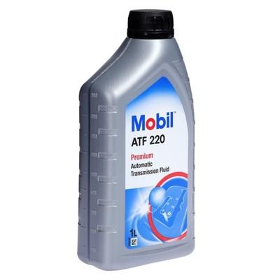 """Трансмиссионное масло Mobil, """"ATF 220"""", минеральное, 1л"""