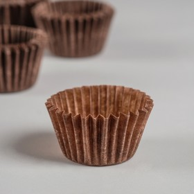 Тарталетка, коричневая, 2,2 х 1,6 см Ош