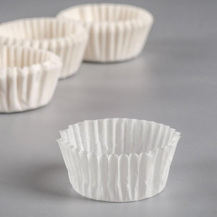 Форма для выпечки белая, 3 х 1,5 см