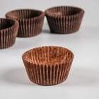 Тарталетка, коричневая, 4 х 2,6 см