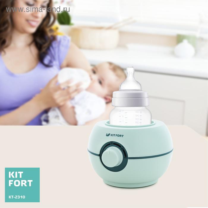 Подогреватель Kitfort КТ-2310, 100 Вт, PTC, от 40 до 100 °С, 1 бутылочка