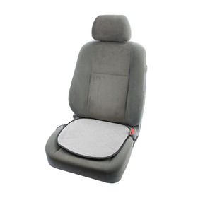 Подогрев сидений TORSO, 46 х 46 см, 12 В, 35 Вт, провод 1,1 м, с регулятором, серый Ош