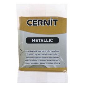 Полимерная глина запекаемая 56г Cernit Metallic 055 античное золото CE0870056055