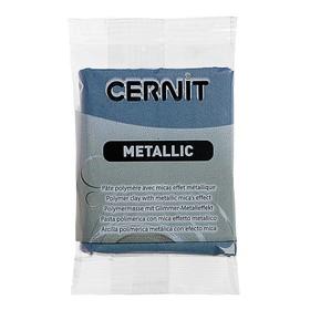 Полимерная глина запекаемая 56г Cernit Metallic 167 сталь CE0870056167