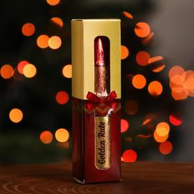 """Фигура из тёмного шоколада """"Помада Golden Rule"""", 18 г (в подарочной упаковке)"""