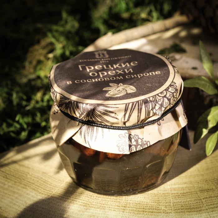 Варенье грецкие орехи в сосновом сиропе, 160 г