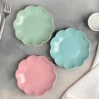 Тарелка «Волна», d=15,5 см, цвет МИКС - Фото 4