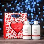 Подарочный набор Liss Kroully Rose: пена для ванны и лосьон для тела