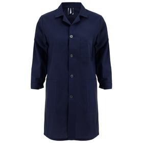 Халат для трудов для мальчика, грета, размер 36-38, цвет тёмно-синий Ош