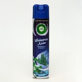 Освежитель воздуха Airwick Швейцарские Альпы «Утренняя роса и зелёный лес», 290 мл