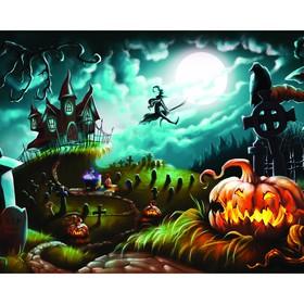 Фотобаннер, 250 × 200 см, с фотопечатью, «Ночное кладбище» Ош
