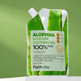 Гель для лица и тела FarmStay, увлажняющий и успокаивающий, с экстрактом алоэ, 100 мл