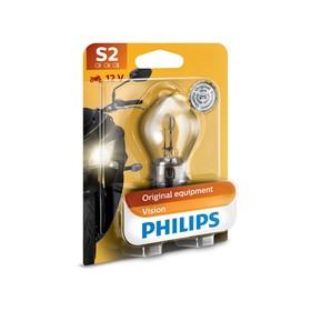 Лампа для мотоциклов PHILIPS, 12 В, S2, 35/35 Вт, BW, BA20d Ош