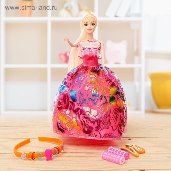 Кукла модель «Марина» в платье, с аксессуарами, МИКС ...