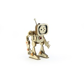 Деревянный конструктор «Робот Флеш»