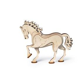 Деревянный конструктор «Конь»