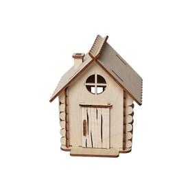 Деревянный конструктор «Домик маленький»