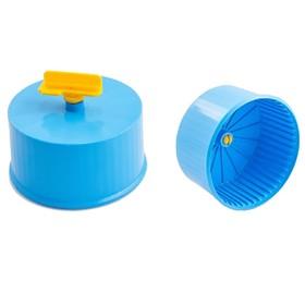Колесо для грызунов полузакрытое пластиковое, без подставки, 9 см, микс цветов Ош