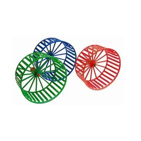 Колесо для грызунов пластиковое, без подставки, 14 см, микс цветов Ош