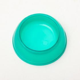 Миска для грызунов пластиковая, прозрачная, 15 мл, микс цветов Ош