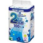 Ароматизированная туалетная бумага Kami Shodji Ellemoi Piko, 1 слой, 100 м, 12 рулонов