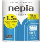 Туалетная бумага Nepia LONG ROLL, 1 слой, 90 м, 8 рулонов