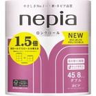 Ароматизированная туалетная бумага Nepia LONG ROLL аромат сакуры, 2 слоя, 45 м, 8 рулонов