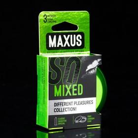 Презервативы набор MAXUS Mixed №3 ж/к