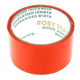 Клейкая лента Rosy Star оранжевая, 48 мм х 36 м Ош