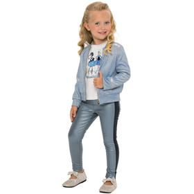 Жакет для девочек, рост 116 см, цвет голубой Ош