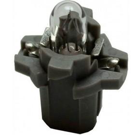 Лампа автомобильная Bosch black, BAX, 12В, 1.2 Вт, (B8,5d), 1987302219