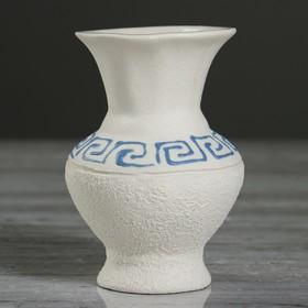 """Ваза настольная """"Чернильница"""", под шамот, 10 см, микс, керамика"""