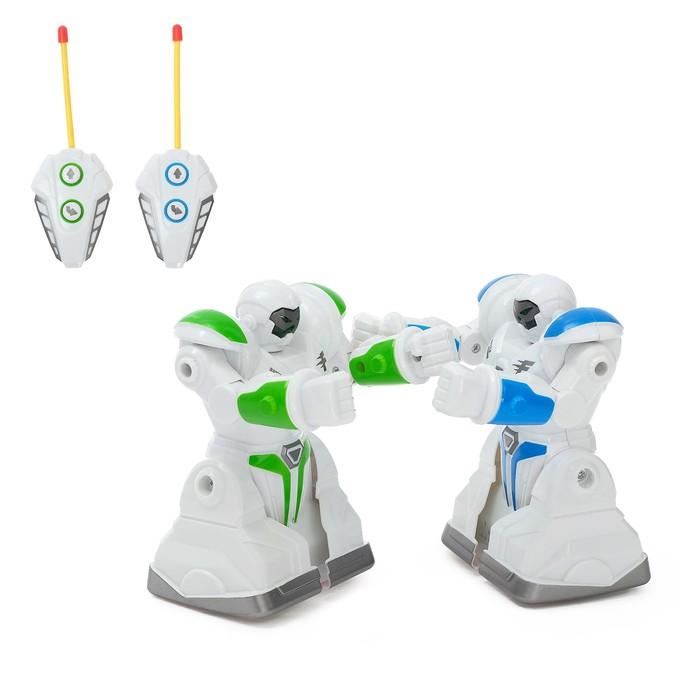 Битва роботов «Сражение», световые и звуковые эффекты, работает от батареек