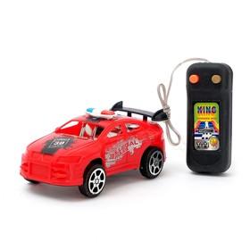 Машина «Полиция», на дистанционном управлении, работает от батареек, МИКС Ош