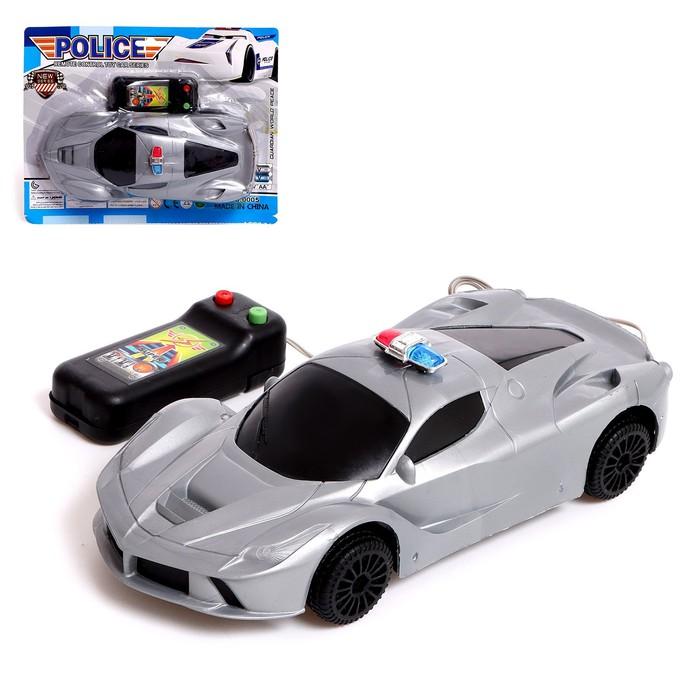 Машина «Полиция», на дистанционном управлении, работает от батареек, МИКС