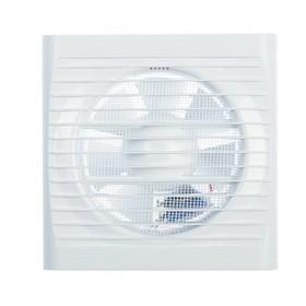 Вентилятор вытяжной TDM 'Народный 125' SQ1807-0202, 230 В, настенный, d=125 мм, белый Ош
