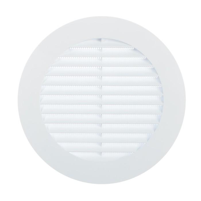 Решетка вентиляционная TDM, d=150 мм, круглая, с москитной сеткой, SQ1807-0094