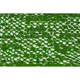 Маскировочная сеть «Лайт», 2 × 5 м, зелёная/светло-зелёная Ош