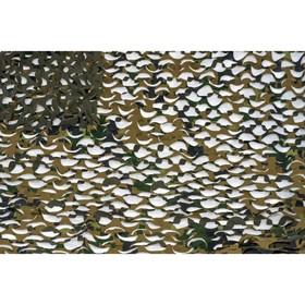 Маскировочная сеть «Пейзаж. Лес 3D», 2,2 × 3 м, зелёная/коричневая Ош