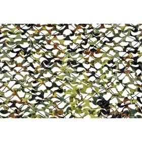 Маскировочная сеть «Пейзаж-профи. GERMANY 3D», 1,8 × 3 м, на сетевой основе, зелёная/коричневая/светло-зелёная Ош