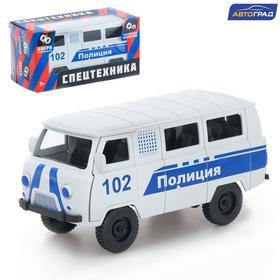 Машина инерционная «Микроавтобус Полиция»