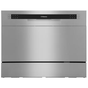 Посудомоечная машина Hansa ZWM 536 SH, класс А+, 6 комплектов, 6 программ, серая Ош