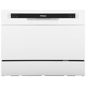Посудомоечная машина Hansa ZWM 536 WH, класс А+, 6 комплектов, 6 программ, белая Ош