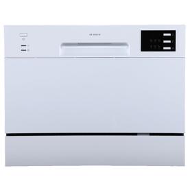 Посудомоечная машина Midea MCFD55320W, класс А+, 6 комплектов, 6 программ, белая Ош