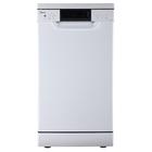Посудомоечная машина Midea MFD45S500W, класс А++, 10 комплектов, 8 л, 8 программ, белая